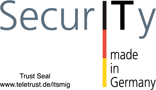 Teletrust Seal IT Security Made in Germany