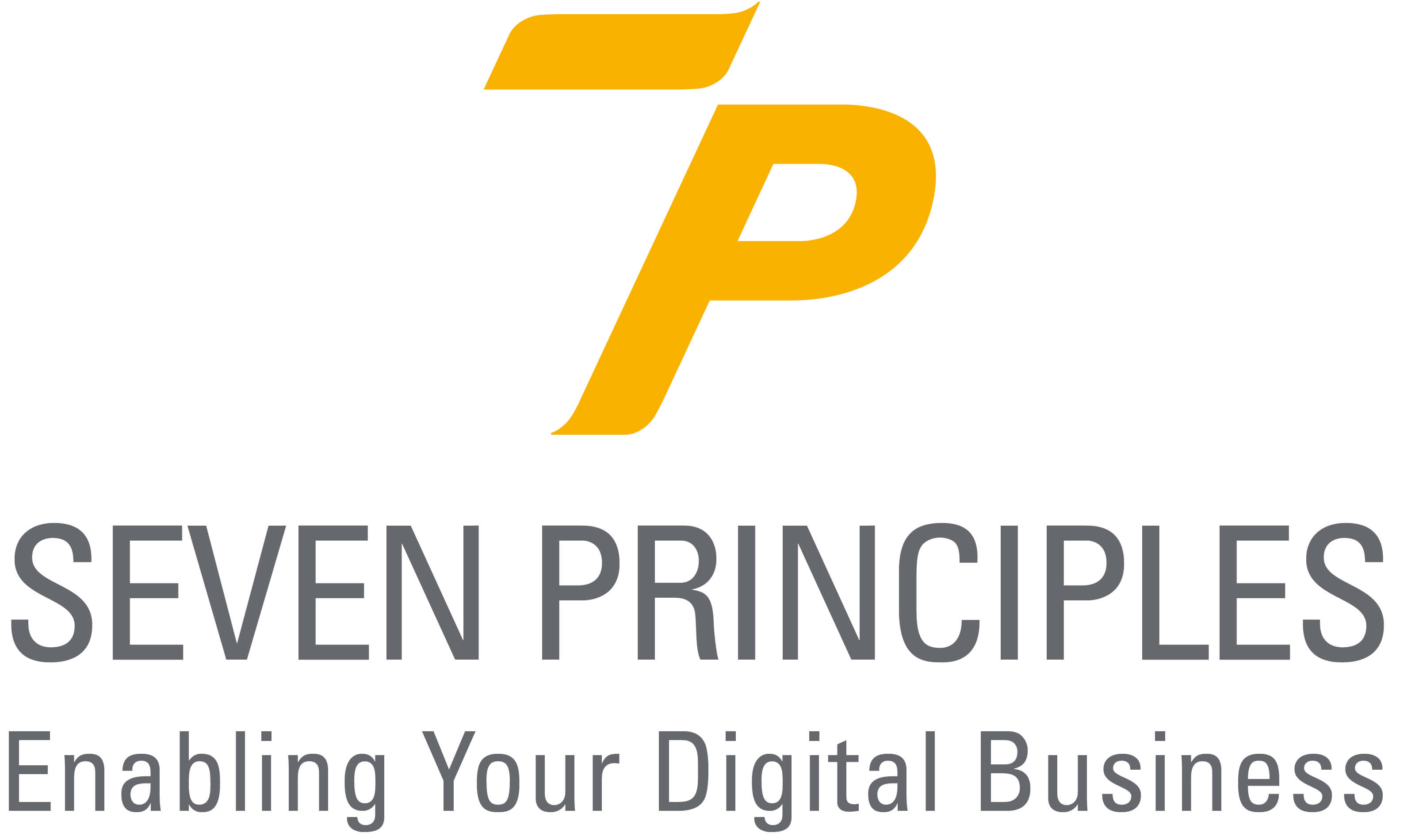Partner Seven Principles 7P Logo Enabling your digital business