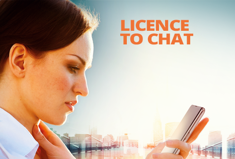 Licence to chat