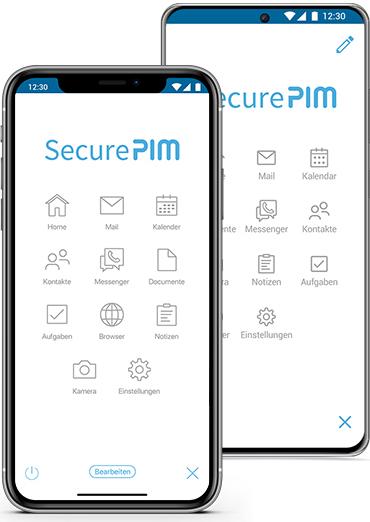 SecurePIM für iOS und Android