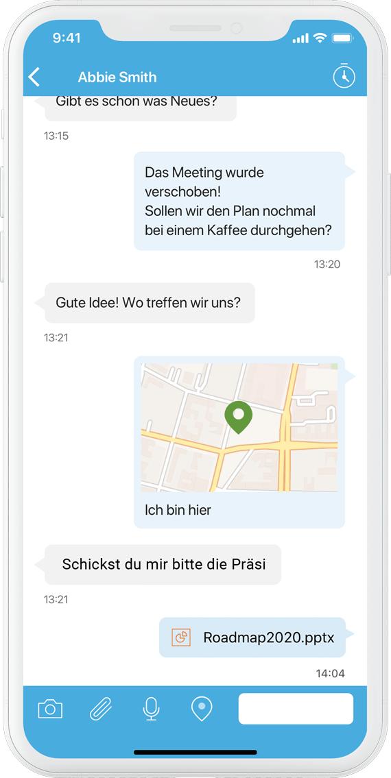 SecurePIM Messenger