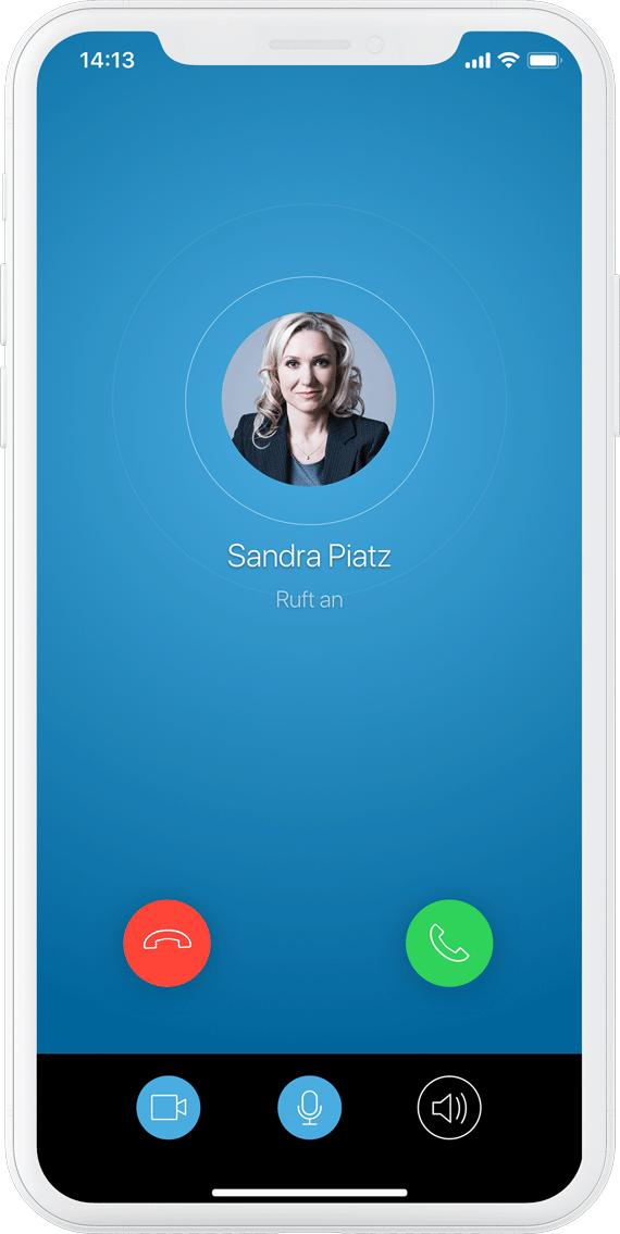 SecurePIM verschlüsselte Telefonie