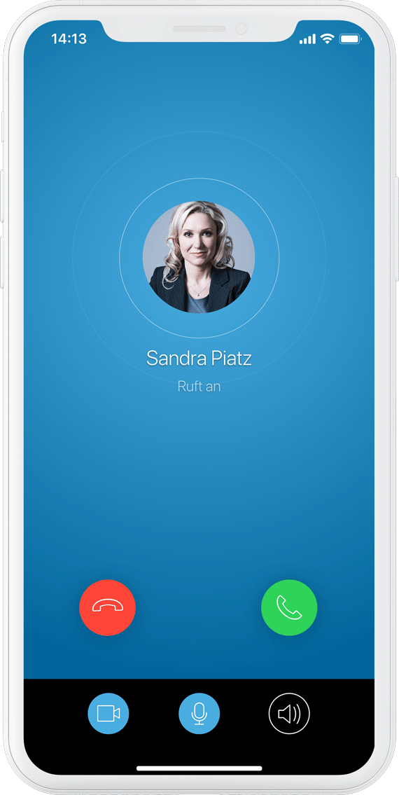 SecurePIM encrypted calls