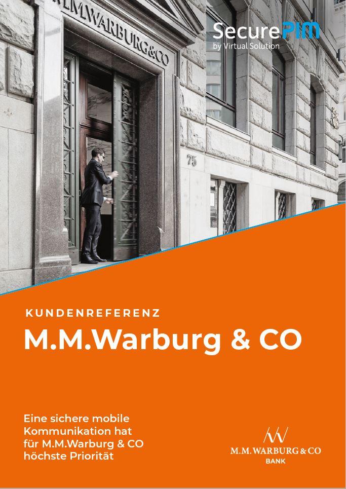 Kundenrefernz M. M. Warburg & CO